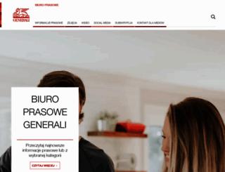 media.generali.pl screenshot