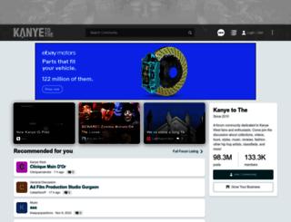 media.kanyetothe.com screenshot