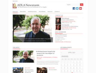media.la-archdiocese.org screenshot