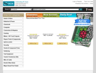 media.mcmelectronics.com screenshot
