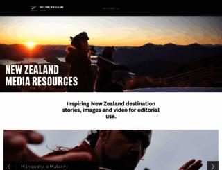 media.newzealand.com screenshot