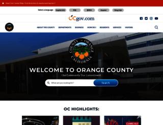 media.ocgov.com screenshot