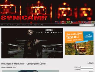 media.sonicamp.com screenshot