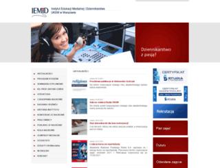 media.uksw.edu.pl screenshot