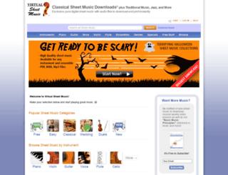 media.virtualsheetmusic.com screenshot