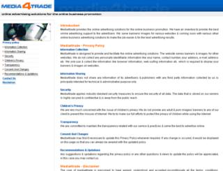 media4trade.com screenshot