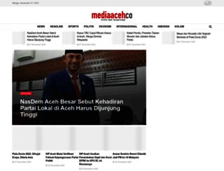 mediaaceh.co screenshot