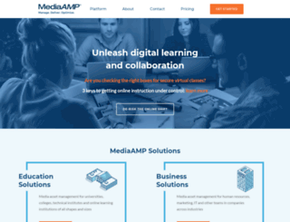 mediaamp.uw.edu screenshot
