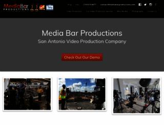 mediabarproductions.com screenshot
