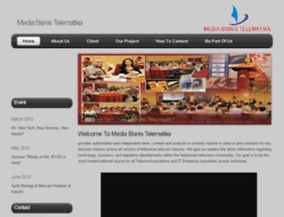 mediabisnistelematika.co.id screenshot