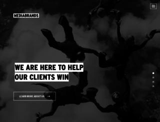 mediabrands.com screenshot