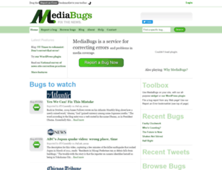 mediabugs.org screenshot