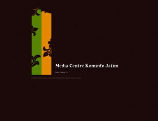 mediacenter.kominfo.jatimprov.go.id screenshot