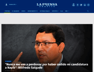 mediacenter.laprensagrafica.com screenshot