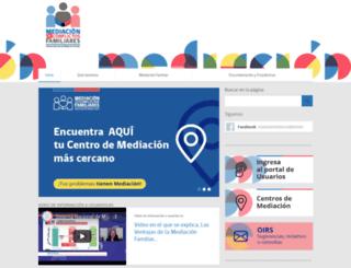 mediacionchile.cl screenshot
