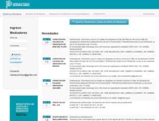 mediaciones-ba.org.ar screenshot