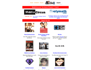 mediacircus.net screenshot
