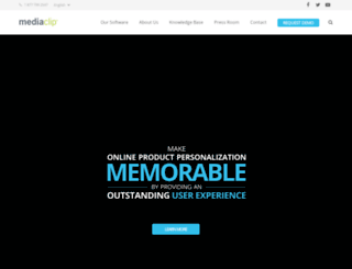 mediaclip.ca screenshot