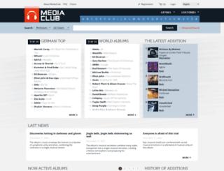 mediaclub.com screenshot
