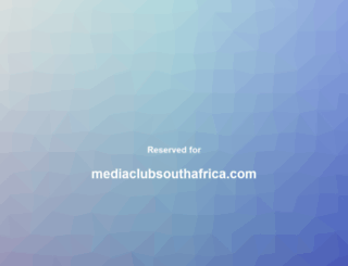 mediaclubsouthafrica.com screenshot