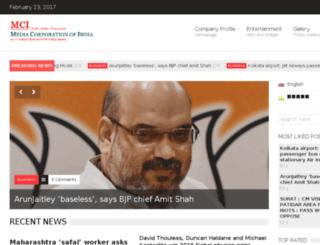 mediacorporationofindia.com screenshot
