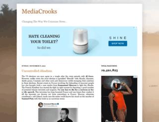 mediacrooks.com screenshot