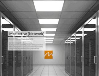 mediactive-network.net screenshot