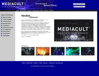 mediacult.de screenshot