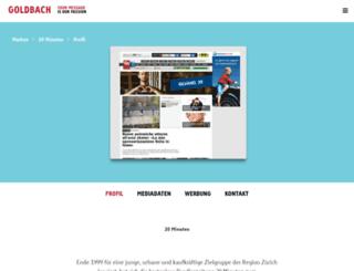 mediadaten.20min.ch screenshot