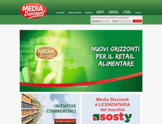 mediadiscount.it screenshot