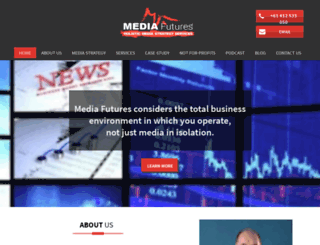 mediafutures.com.au screenshot