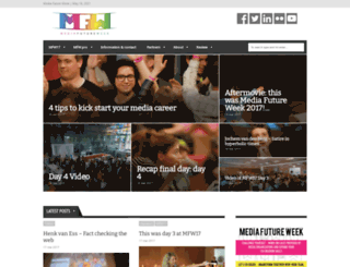 mediafutureweek.nl screenshot