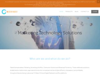 mediahost.co.za screenshot