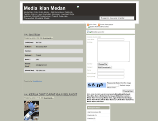mediaiklan-medan.blogspot.com screenshot