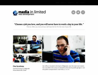 mediainlimited.com screenshot
