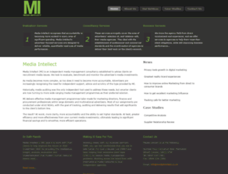 mediaintellect.co.uk screenshot