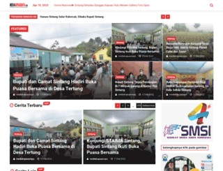 mediakapuasraya.com screenshot
