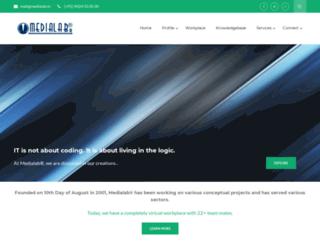 medialab.co.in screenshot