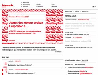 medialab.sciences-po.fr screenshot