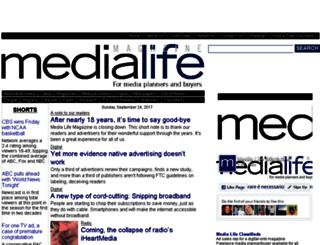 medialifemagazine.com screenshot
