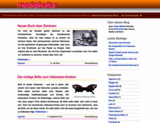 medialkultur.de screenshot