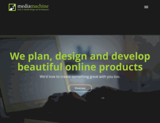 mediamachine.co.za screenshot