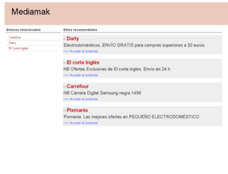 mediamak.es screenshot
