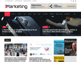 mediamarketing.ma screenshot