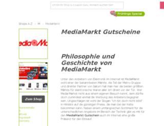 mediamarkt.gutscheincodes.de screenshot