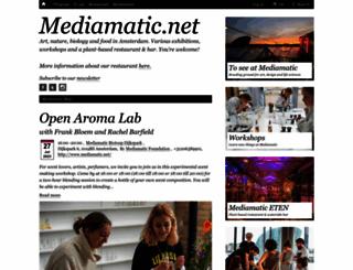 mediamatic.net screenshot