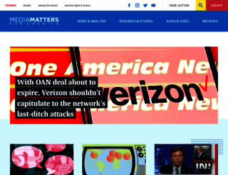 mediamatters.org screenshot