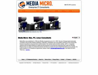mediamicro.com screenshot