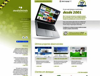 mediaminds.pt screenshot