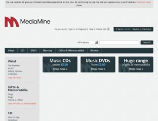 mediamine.com screenshot